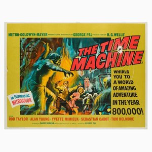 The Time Machine Movie Poster by Reynold Brown, 1960s