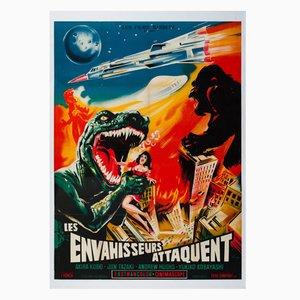 Poster del film Destroy All Monsters di Constantine Belinsky, 1970