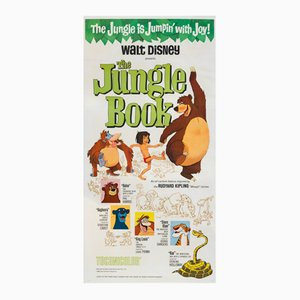 The Jungle Book Movie Poster, 1967