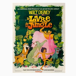 The Jungle Book Movie Poster, 1968