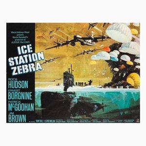 Póster de la película Ice Station Zebra de Bob McCall, 1968