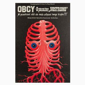 Poster del film Alien di Jakub Erol, 1980