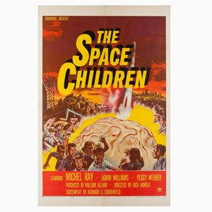 Vintage The Space Children Poster, 1950s