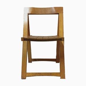 Chaise Pliable par Aldo Jacober pour Bazzani, 1966