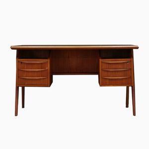 Vintage Schreibtisch in Teak von G.N. Tibergaard