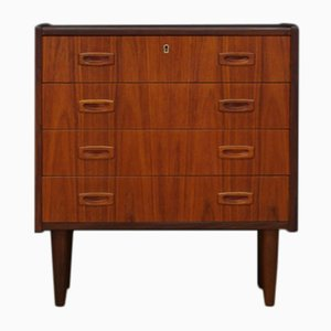 Vintage Teak Veneer Chest of Drawers
