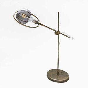 Lampe de Bureau Crane en Bronze par Angela Ardisson pour Artplayfactory