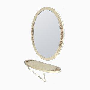 Set consolle e specchio, Italia, anni '60