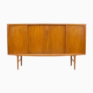 Danish Teak Highboard from Axel Christensen, 1960s