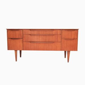 Vintage Scandinavian Sideboard with 7 Drawers from Austinsuite