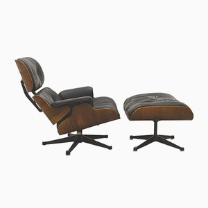 Lounge Chair & Ottoman by Ray & Charles Eames for Herman Miller, 1960s