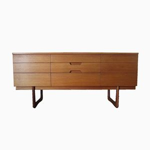 Sideboard by G. Hoffstead for Uniflex, 1960s