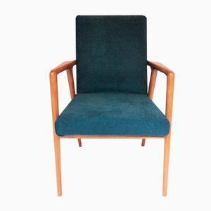 Vintage Blue Armchair, 1950s