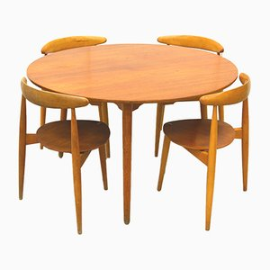 Mid-Century FH4602 Teak Dining Set by Hans J. Wegner for Fritz Hansen