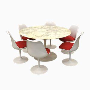 Tulip Dining Set by Eero Saarinen for Knoll International, 1970s