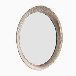Specchio a muro illuminato di Mathieu Matégot per Artimeta, anni '50