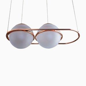 Lámpara colgante Art Déco de Federica Biasi para Mingardo