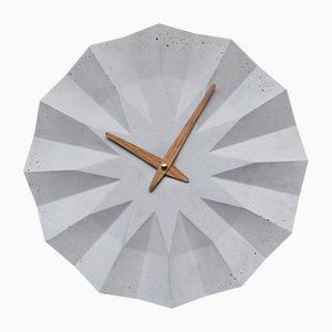 Horloge Murale Polygone par Adam Molnar pour MOHA design, 2015