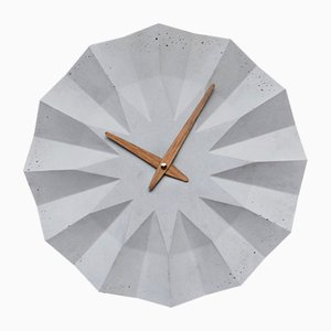 Polygon Wall Clock by Adam Molnar for MOHA design, 2015