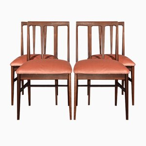 Mid Century Afromosia Dining Chairs By John Herbert For A. Younger, Set Of