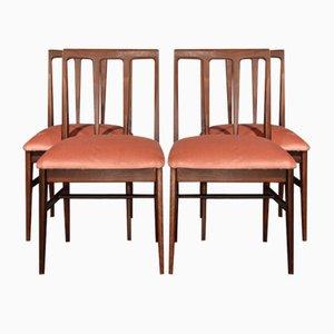 Mid-Century Avonosia Esszimmerstühle von John Herbert für A. Younger, 4er Set
