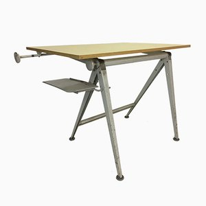 Vintage Reply Drafting Table by Wim Rietveld & Friso Kramer for Ahrend De Cirkel, 1950s