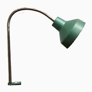 Lámpara de escritorio polaca industrial de Metal-Mot, años 60