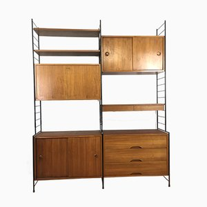 Mid-Century Shelving Unit, 1960s