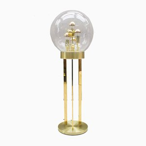 Golden Sputnik Floor Lamp from Doria Leuchten, 1970s
