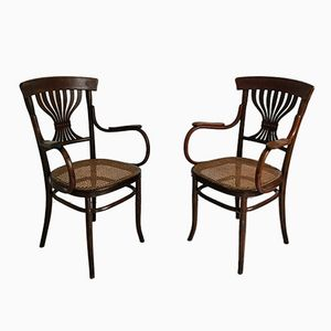 French Armchairs from Fischel, 1930s, Set of 2