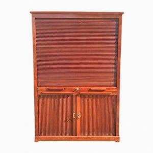 19th-Century Tambour Cabinet