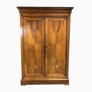 19th-Century Louis Philippe Cabinet in Chestnut