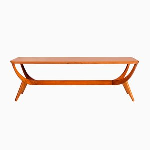 Mid-Century Teak Coffee Table by A.A. Patijn for Zijlstra Joure, 1950s