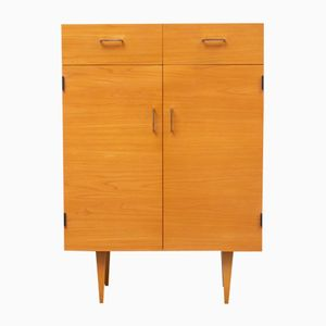 Elm Veneered Cabinet, 1960s
