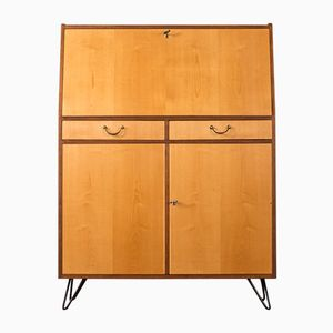Walnut & Ash Secretaire, 1960s