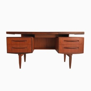 Mid-Century Teak Desk by Victor Wilkins for G-Plan, 1960s