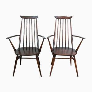 Windsor Goldsmith 369A Carver Stühle von Ercol, 1960er, 2er Set