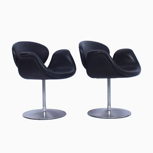 Small Vintage Tulip Chairs by Pierre Paulin for Artifort, Set of 2