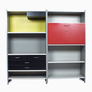 Vintage Dutch Modular Wall Unit by Cordemeijer for Gispen