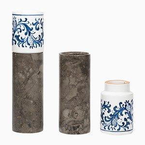 Innesto Vases by gumdesign for La Casa di Pietra, Set of 2