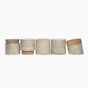 Contenuti Containers by gumdesign for La Casa di Pietra, Set of 5