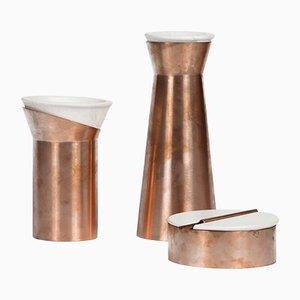 Rituali Containers by gumdesign for La Casa di Pietra, Set of 3