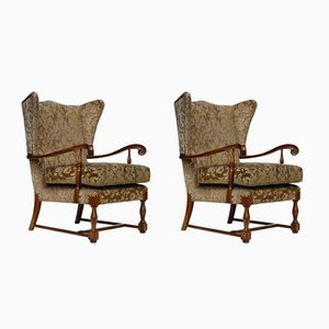 Vintage Italian Armchairs by Paolo Buffa, Set of 2