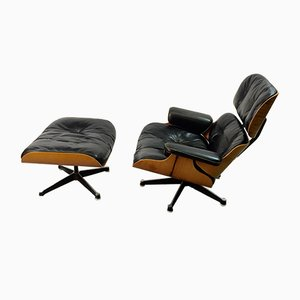 Lounge Chair & Ottoman by Charles & Ray Eames for Vitra, 1967
