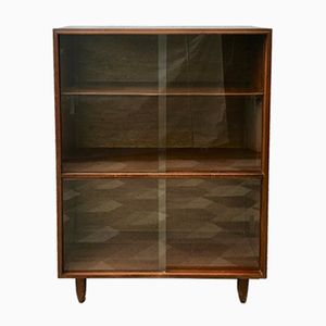 Vintage Cabinet in Wood & Glass from Beaver and Tapley
