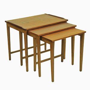 Danish Teak Nesting Tables, 1960s