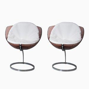 Sphere Stühle von Boris Tabacoff für Mobilier Modulaire Moderne, 1971, 2er Set