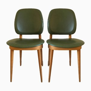 Dining Chairs by Pierre Guariche, 1960s, Set of 2