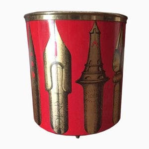 Vintage Wastepaper Basket by Piero Fornasetti