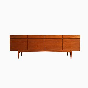 Mid-Century Teak Model 66 Sideboard by Ib Kofod-Larsen for Faarup